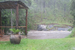 Cyclone Ita swells the creeks